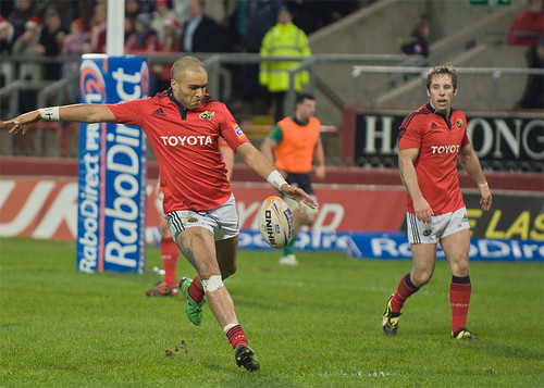 Simon Zebo clears copy