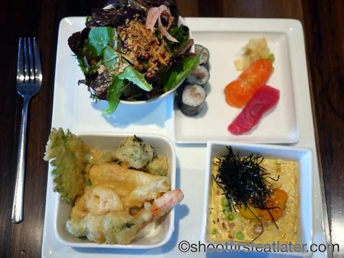 Morimoto Napa- sea urchin carbonara set