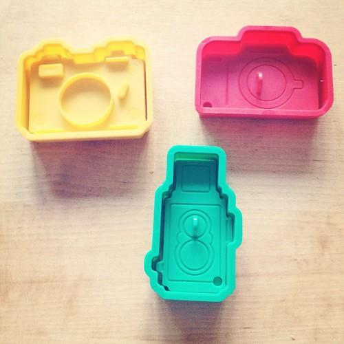 Camera cookie cutters! by Princess Bala Vera