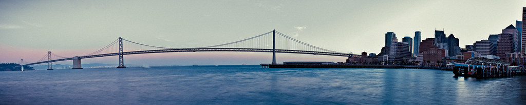 San Francisco Bay Bridge Panoramic