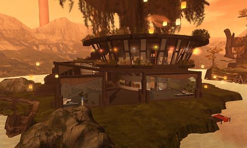 Designing Worlds Studio in Garden of Dreams 2