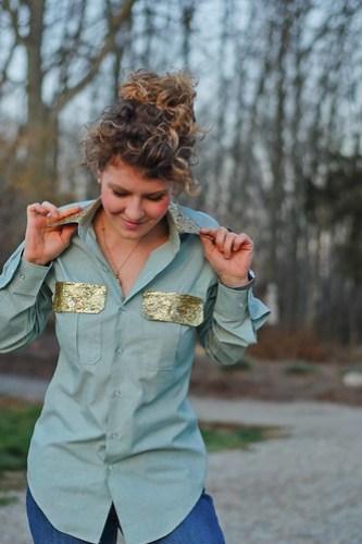 DIY Glitter Shirt