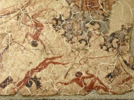 Arte Minoica, fresco de Akrotiri