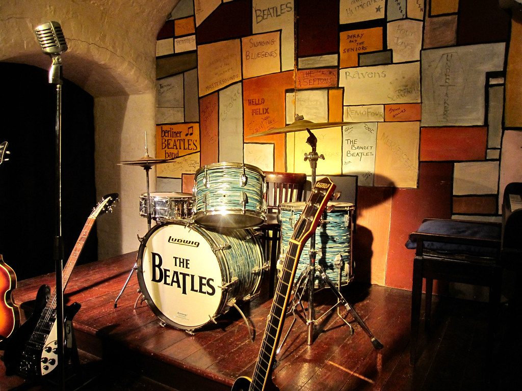 THE CAVERN CLUB STAGE..LIVERPOOL UK., places to visit in Liverpool