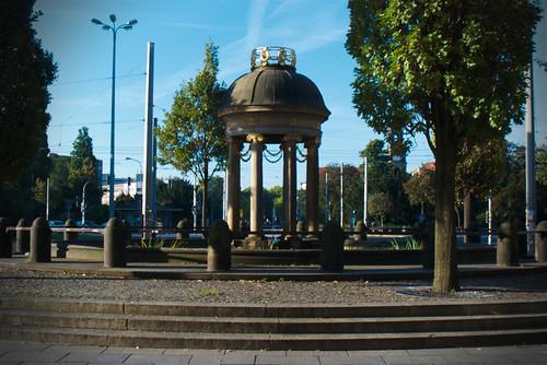 Die artesische Quelle am Albertplatz