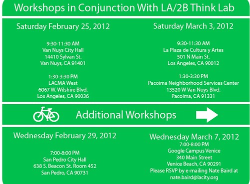 Wayfinding Workshop Schedule