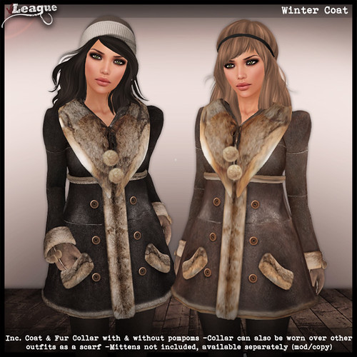 *League* Winter Coats