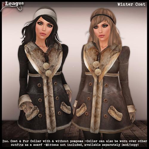 *League* Winter Coats