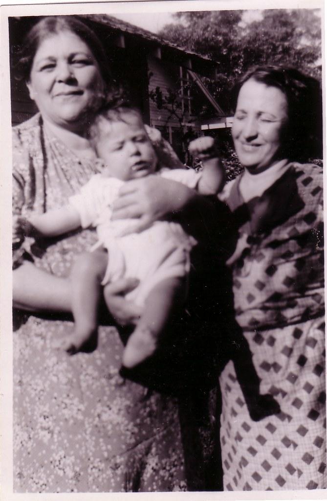 Margie, infant (Donald), Blanch Wyman