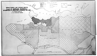 1910's Vancouver projected for 1950