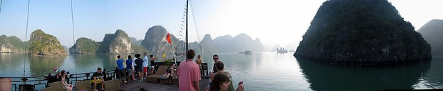 Partying in Halong Bay