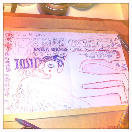 The sketchbook project 2012 - in progress