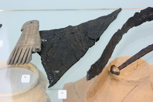 Roman leather fragments, 100-175AD