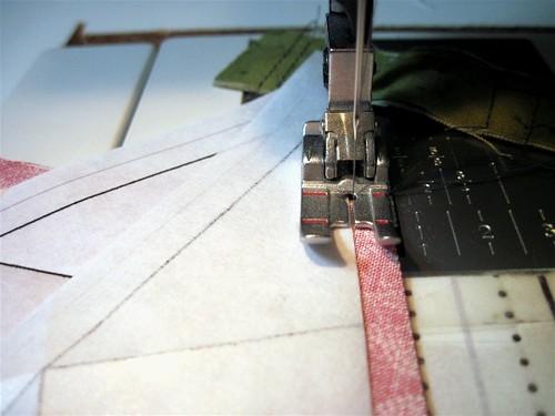 6 Sew Along Edge of Paper