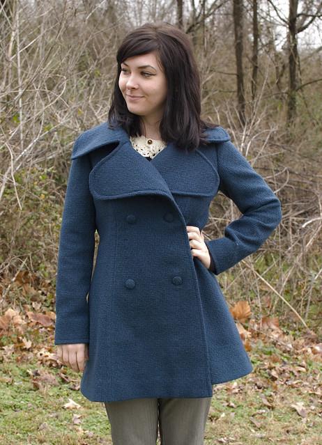 Coat front