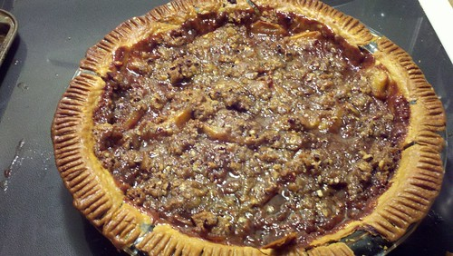 Southern Comfort Caramel Apple Pie