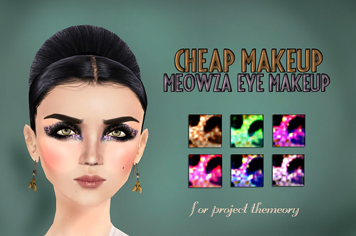 Cheap Makeup Meowza Eye Makeup
