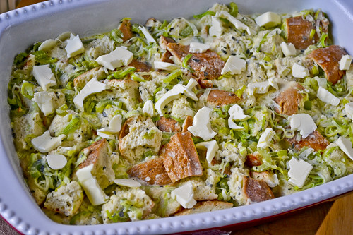 Herb-and-Leek Bread Pudding 10