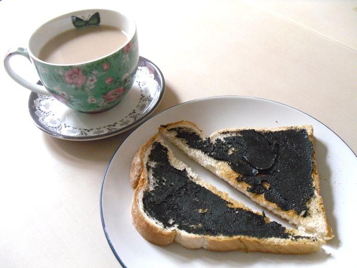 tea and black sesame