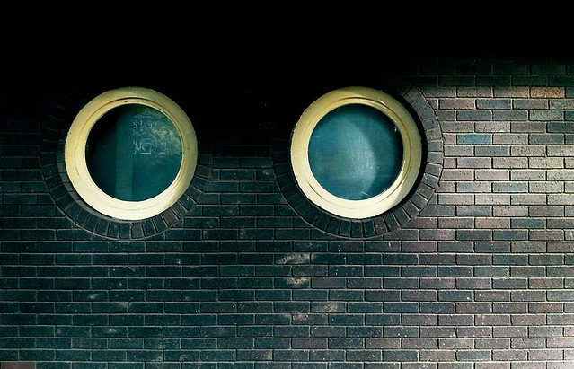 Two round windows