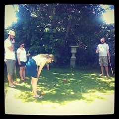 Backyard croquet