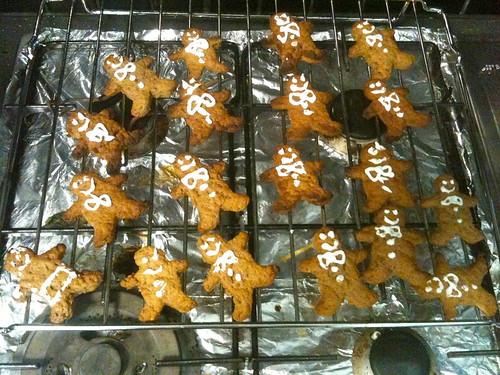 ugly gingerbread cookies
