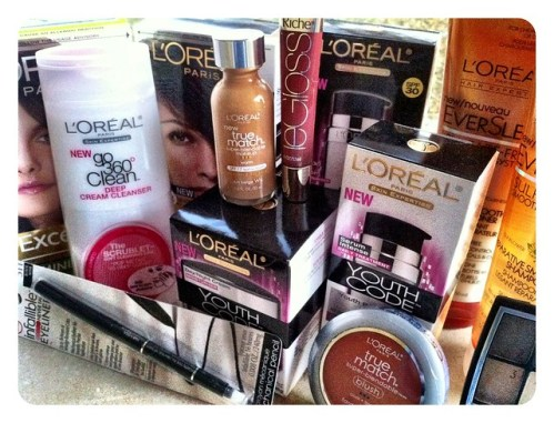 L'Oreal products