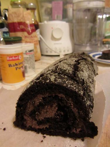 chocolate swiss roll no. 1