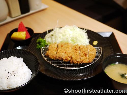 premium tonkatsu set