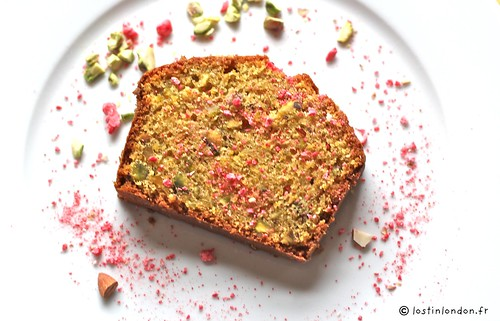 cake pistaches