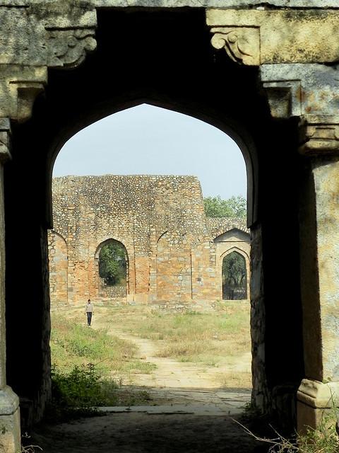 Balban's Tomb in Mehrauli, New Delhi