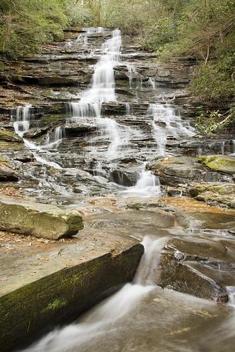 Minnehaha Falls, Rabun County, Georgia