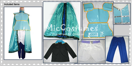 Finial Fantasy VI Edgar Roni Figaro Cosplay Costume_1