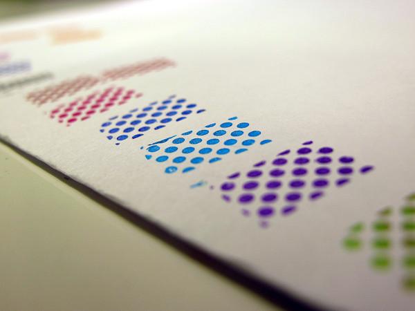 Kleancolor Metallics stamping