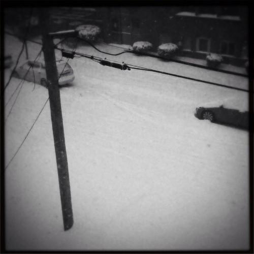 First snow (kinda)