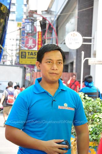 GMA reporter Raffy Tima