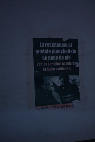 """""""The Resistance to Pinochet's System is Rising Up: The Struggle for the People's Rights Continues"""""""