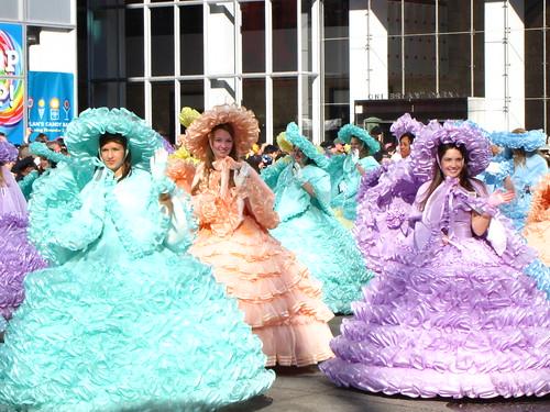 The Azalea Girls at 85th Macy's Thanksgiving Parade