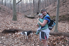 Bull Run Occoquan Trail - Henry, Sagan, Vicky (By Ryan Somma)