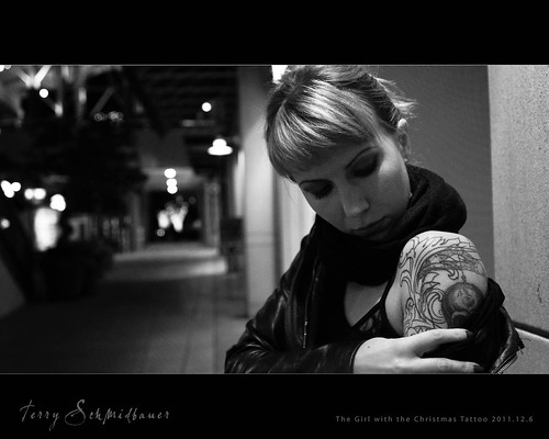 The Girl with the Christmas Tattoo by Terry Schmidbauer