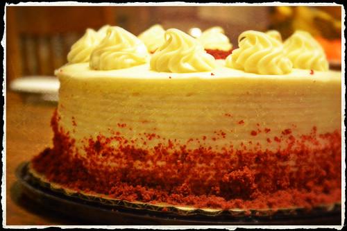 Red Velvet Cake by Luke A. Bunker