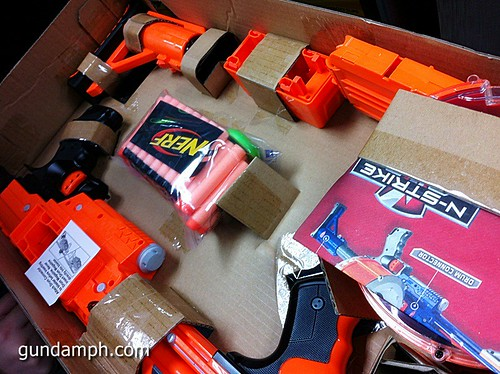 NERF Sale 50% Off Stampede Raider Recon Unboxing Review (57)