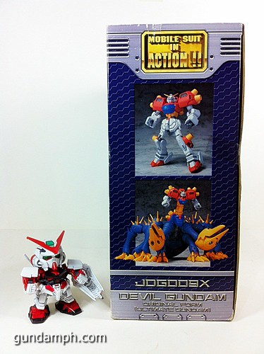 MSIA Devil Gundam First Form Unboxing Review Huge (5)