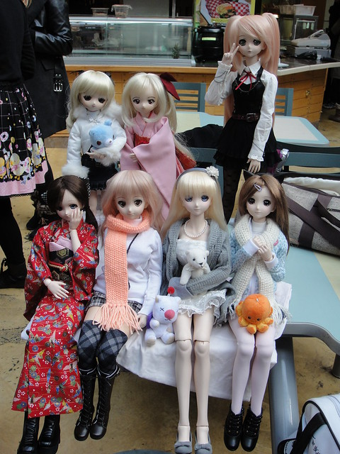Dollfie Dream group shot :)