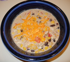Crockpot Southwest Chicken Soup