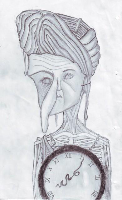 Time keeps sagging your skin, dear