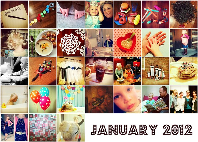 January in Instagrams