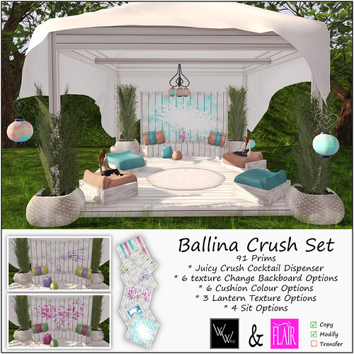 WWinx & Flair - Ballina Crush Set AD 50% off during event