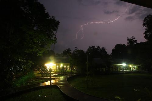 Storm on the jungle - Gunung Mulu by Raffaella di Iorio Photography
