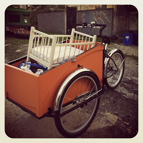 #cargobike transported all of my merch to vend at Art Shop
